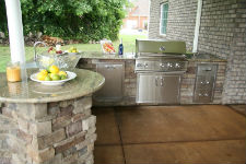 kingwood outdoor kitchens finished project