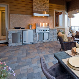Image from latest outdoor kitchen trends