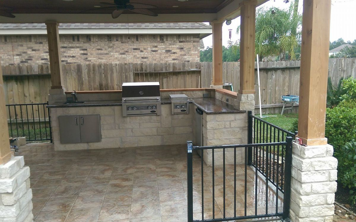 Outdoor Kitchen Designs | Houston\'s Best Outdoor Kitchens